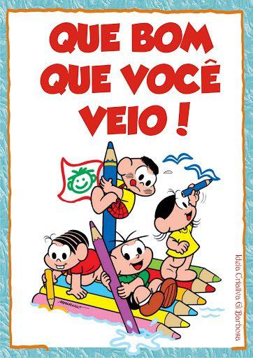 Cartazes Rotina Turma Da Monica Com Imagens Desenho Turma Da