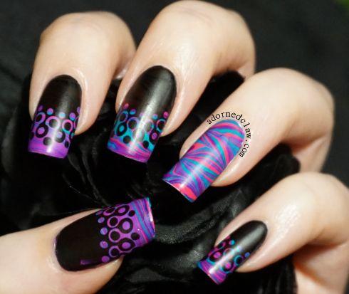Nail Art Designs For Black Handsas Seen On Tv Hot Designs Nail Art