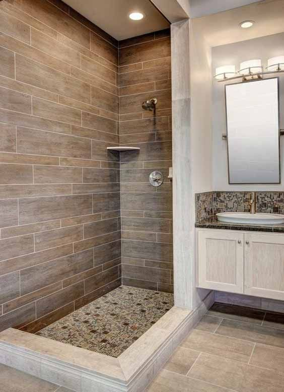 Azulejos Piedras Baño | Azulejos Para Baños Pequeños | Pinterest ...