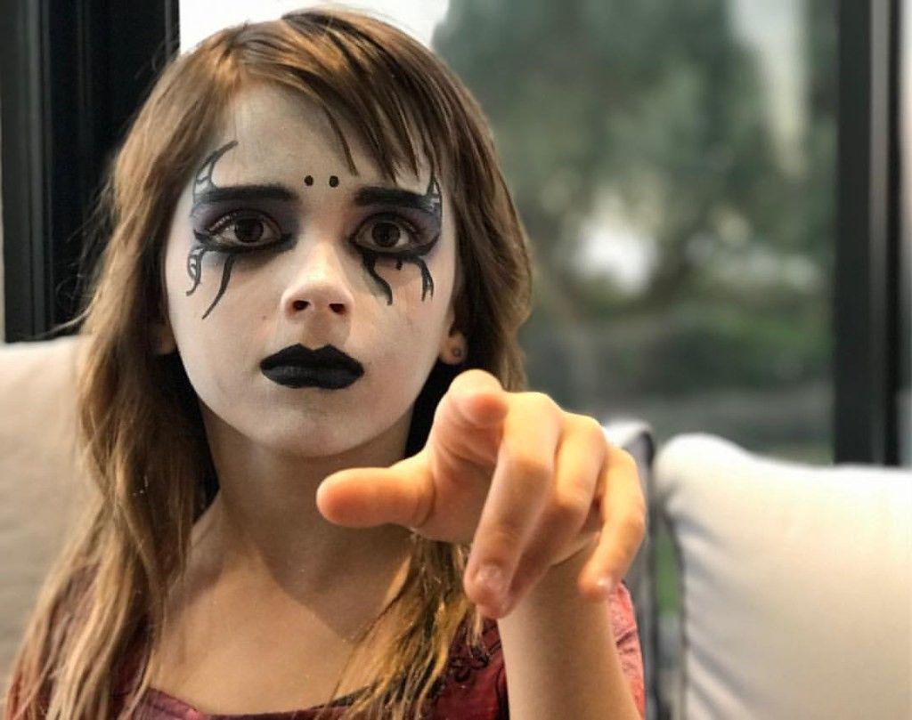 Noir Rouge à lèvres et vernis à ongles Vernis Kit Halloween Maquillage Déguisement Sorcière