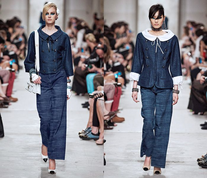 Chanel 2014 Cruise Runway Collection - 2014 Resort Pre Spring Défilé Croisière Femme Womens & Mens Homme at Loewen Cluster on Dempsey Hill Singapore: Designer Denim Jeans Fashion: Season Collections, Runways, Lookbooks and Linesheets