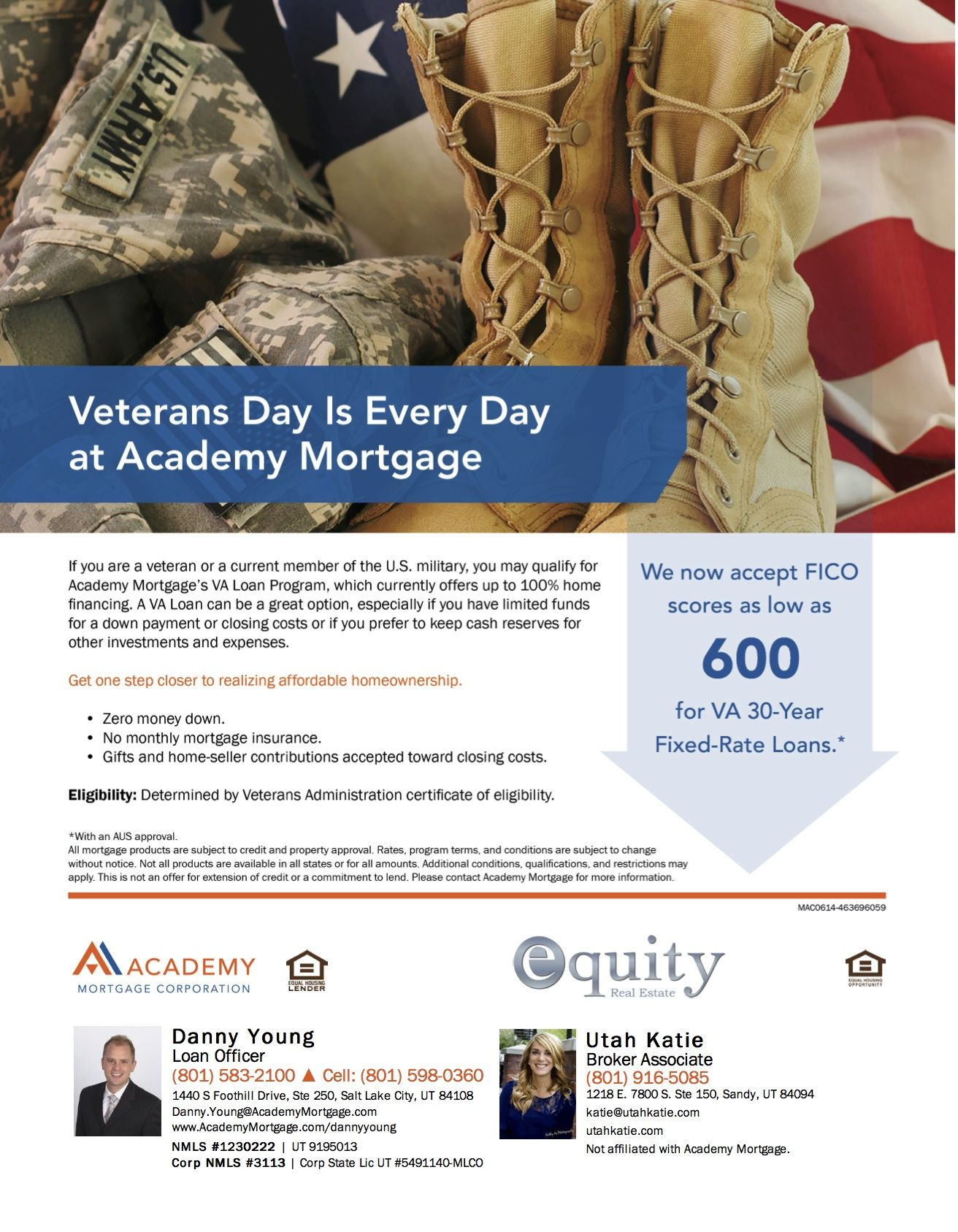Here Are The Details Of How We Proudly Serves Our Nation S Veterans And Active Duty Military Personne Mortgage Loan Officer Small Business Loans Home Financing
