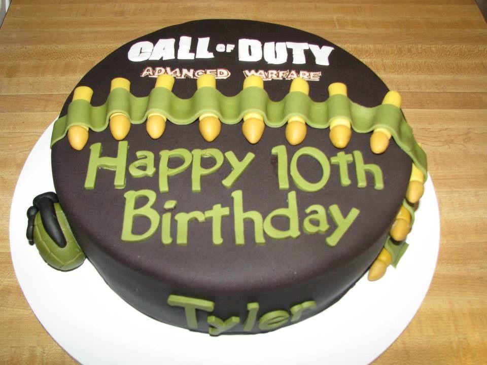 Birthday Cake For Joseph ~ Call of duty cake cakes cake birthday cakes and