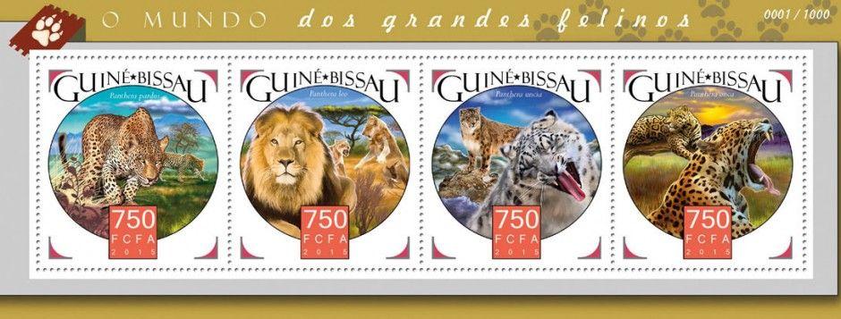 GB15913a Big cats (Panthera pardus, Panthera leo, Panthera uncia, Panthera onca)