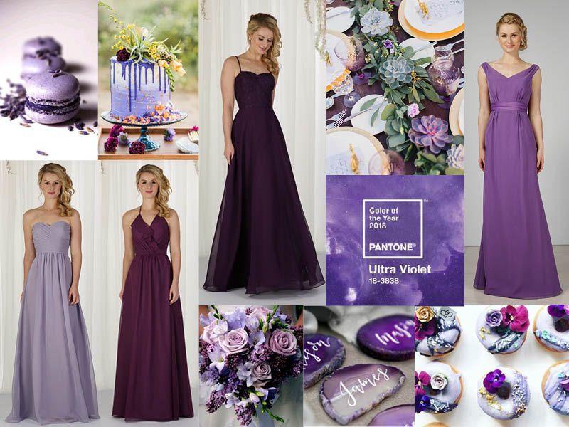 Pantone\'s Ultra Violet for your Bridesmaids – Richard Designs ...