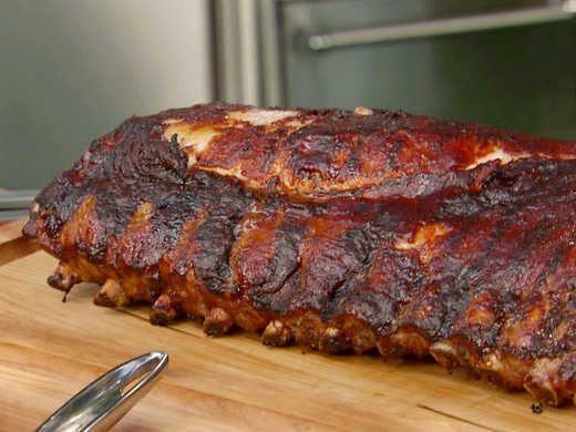 Bobby Flay S Rubbed Rack Of Pork