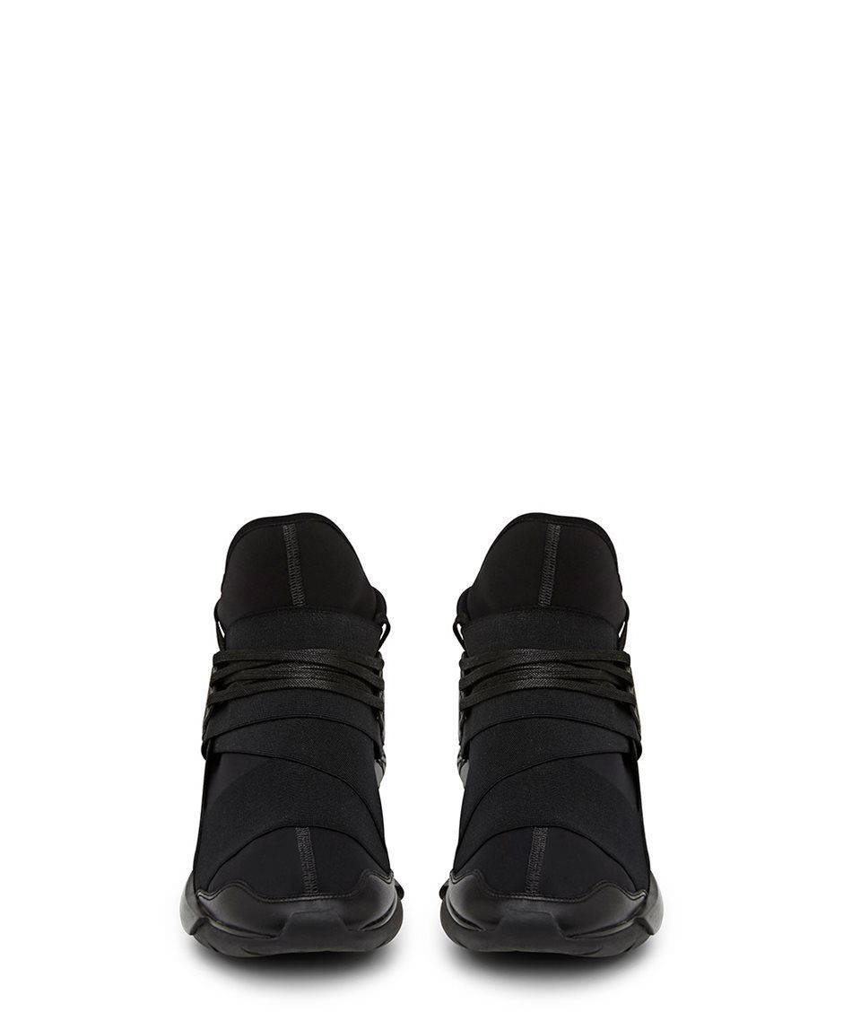 1042f2cfe196d Y-3 Qasa Black High Top Sneaker - why will they not make them in women s  sizes !