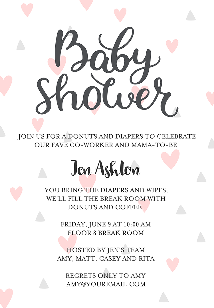 Baby Shower Invitation Wording To Welcome The Wee One Into