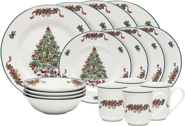 Johnson Brothers Victorian Christmas 16-pc. Stoneware Dinnerware Set  sc 1 st  Pinterest & Johnson Brothers Victorian Christmas 16-pc. Stoneware Dinnerware Set ...