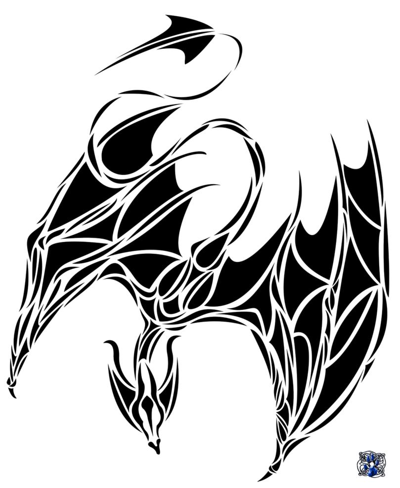 Tribal Chinese Dragon Tattoos 1grt43 809x988