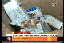 Desmantelan Laboratorio Falsificaban Medicamentos Y Vendian En Farmacias #Video