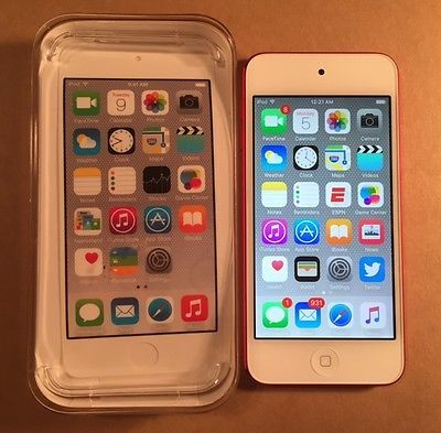 Apple iPod Touch 6th Generation 64GB Product Red MP3 Player w AppleCare https://t.co/ILjl0cD0AD https://t.co/TUlvqpbBqV