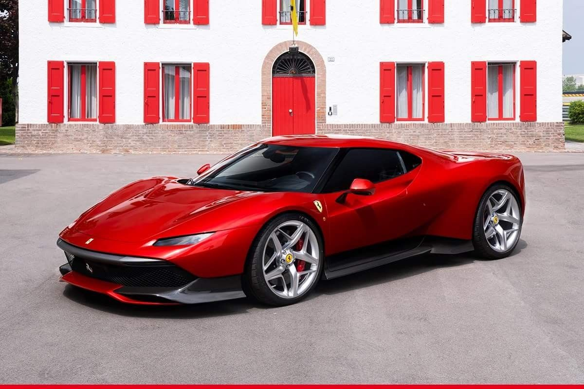 The Ferrarisp38 The Latest Offspring From Ferrari S One Off Program Has Been Unveiled Today At Fiorano Take A Look At I New Ferrari Super Cars Sports Cars