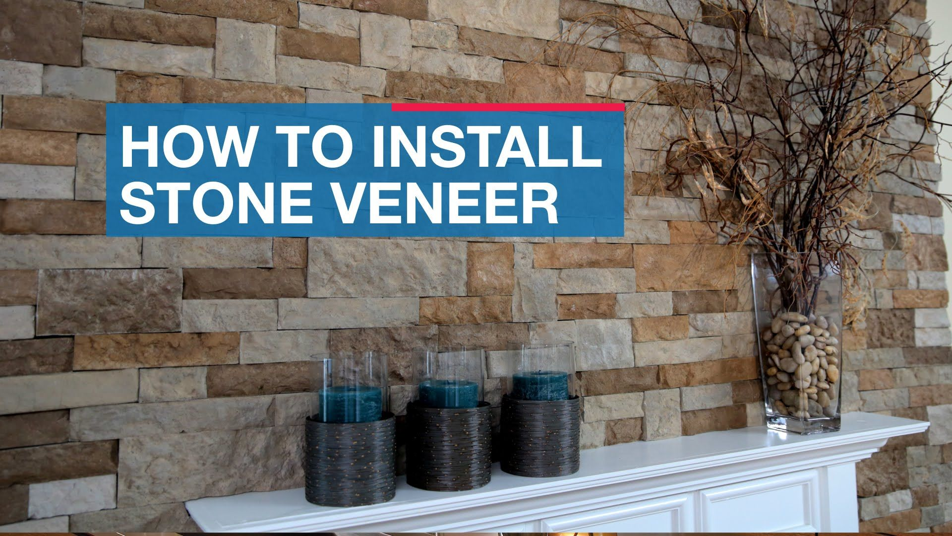 Installing Natural Stone Veneer On Your Fireplace Is Easy With