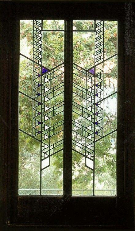 Frank Lloyd Wright Window Windows Pinterest Frank