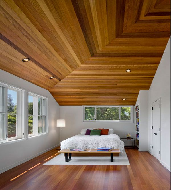 Eco friendly ceiling designs for the modern home for Eco friendly bedroom ideas
