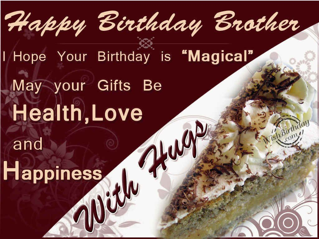 Brother Happy Birthday From Sister Bing Images Birthday