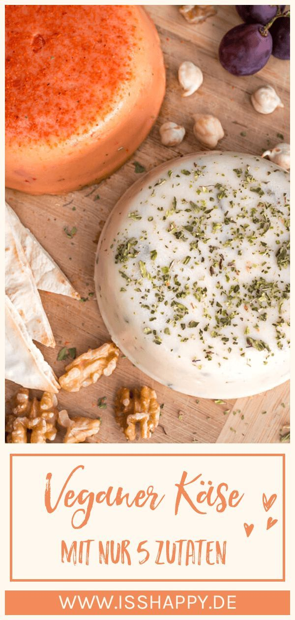 Veganer Käse: Einfaches Rezept mit wenigen simplen Zutaten zum Selbermachen