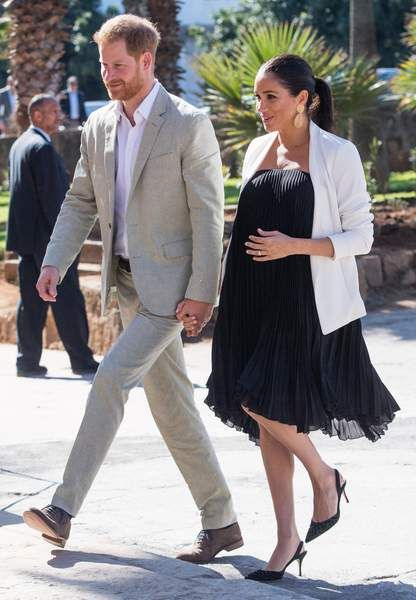 Meghan Markle dans ses plus beaux looks de grossesse