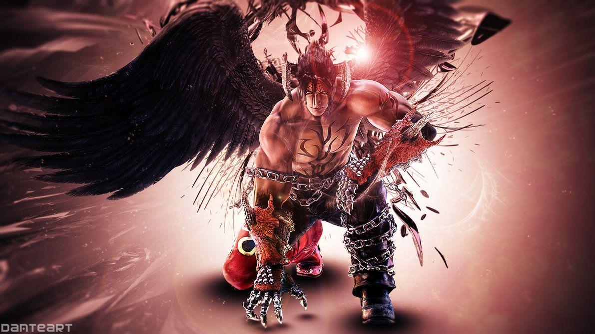 Tekken Tag 2 Devil Jin Wallpaper by DanteArtWallpapers | Fighting games | Jin kazama, Tekken 7 ...