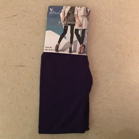 Fleece lined leggings Fleece lined leggings purple size: m/l Ezi  Pants Leggings