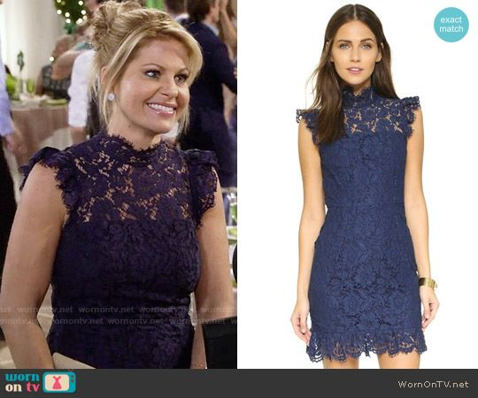 Dj tanner fuller house blue lace dress