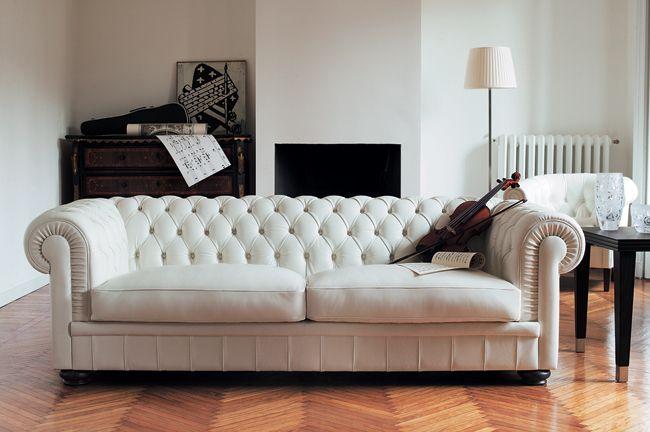 Natuzzi King Chesterfield Sofa Design