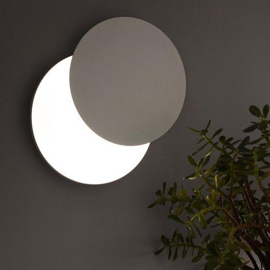 Applique Moderne Métal Led Intégrée Inspire Eclipse Decor