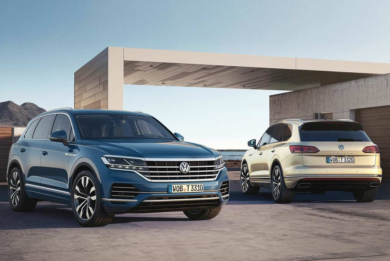 Volkswagen Has Presented The New Vw Touareg The 5 Seater Suv Was Recently Unveiled In Beijing China The Thi Volkswagen Touareg Volkswagen Classic Volkswagen
