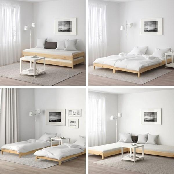 Ikea Utaker Hack Google Search Space Saving Furniture Ikea Bed Space Saving Hacks