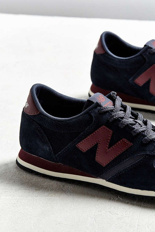 new balance 420 navy burgundy