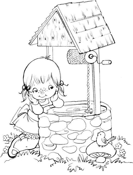 Coloring Book Tina Coloring Book Dibujos Colorear Ninos Munequitos Para Colorear Figuras Para Colorear
