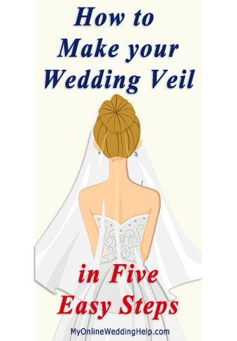 How To Make A Wedding Veil Video And Written Instructions