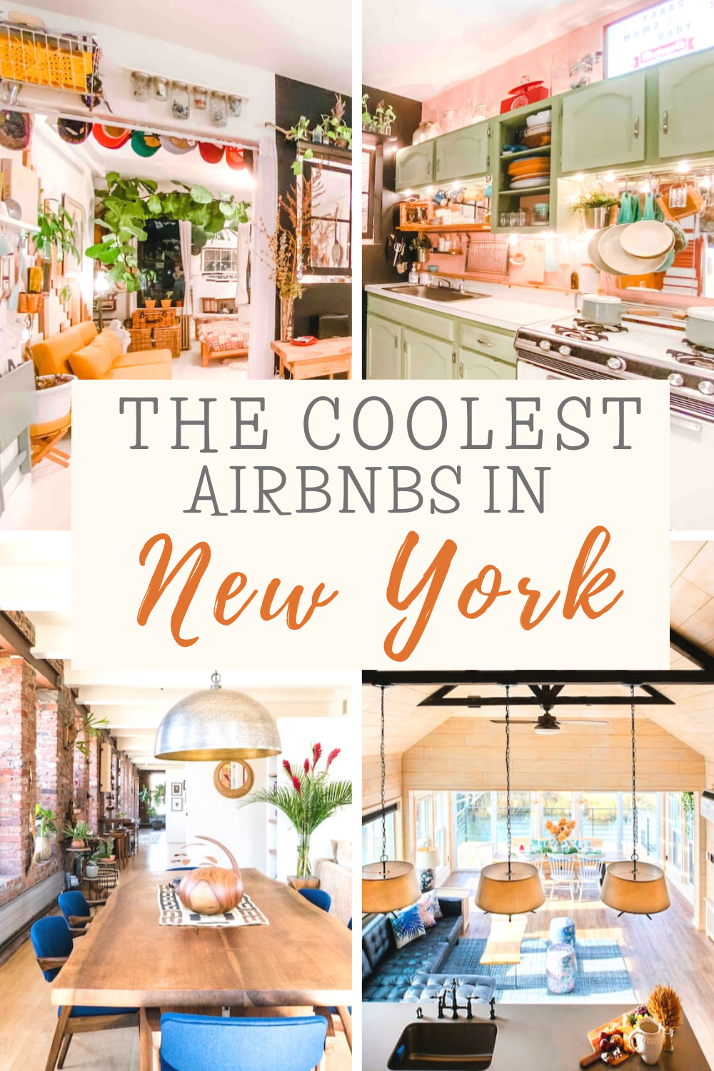 Here are The Coolest Airbnbs In New York City!