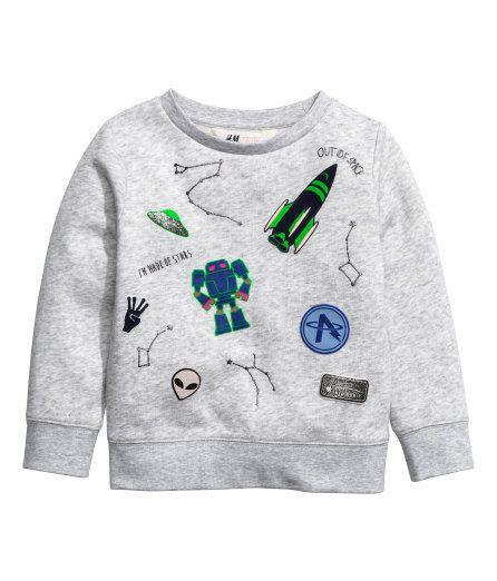 Printed Sweatshirt Kids H M Ca Meninas Inverno Outono Inverno