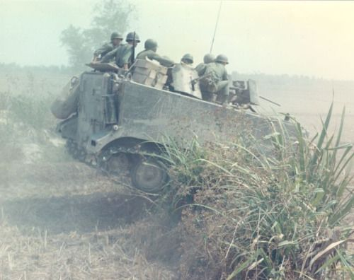 M113 APC of US Army 11th Armored Cavalry, 1968