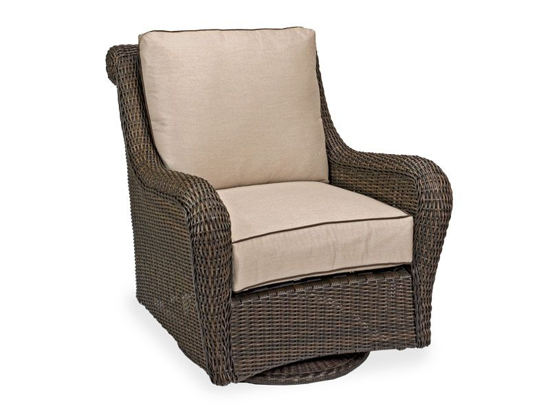 Amazing Malibu Woven Resin Wicker Swivel Glider Lounge Chair The Gmtry Best Dining Table And Chair Ideas Images Gmtryco