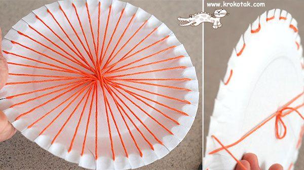 Manualidades Con Lana Telar Circular Facil - Como-hacer-manualidades-con-lana
