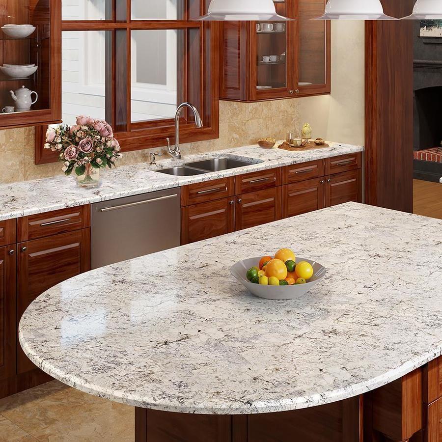 Allen Roth Sierra Blanca Granite Kitchen Countertop Sample At