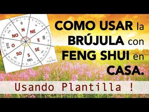 Usa La Brujula Con Feng Shui Sobre Plano Casa Hogar I Energia Feng