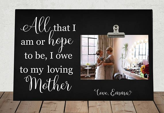 MOTHER of the BRIDE or GROOM Wedding Personalized Free Mom