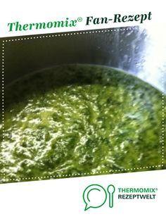 Rahmspinat aus frischem Spinat #spinachsoup