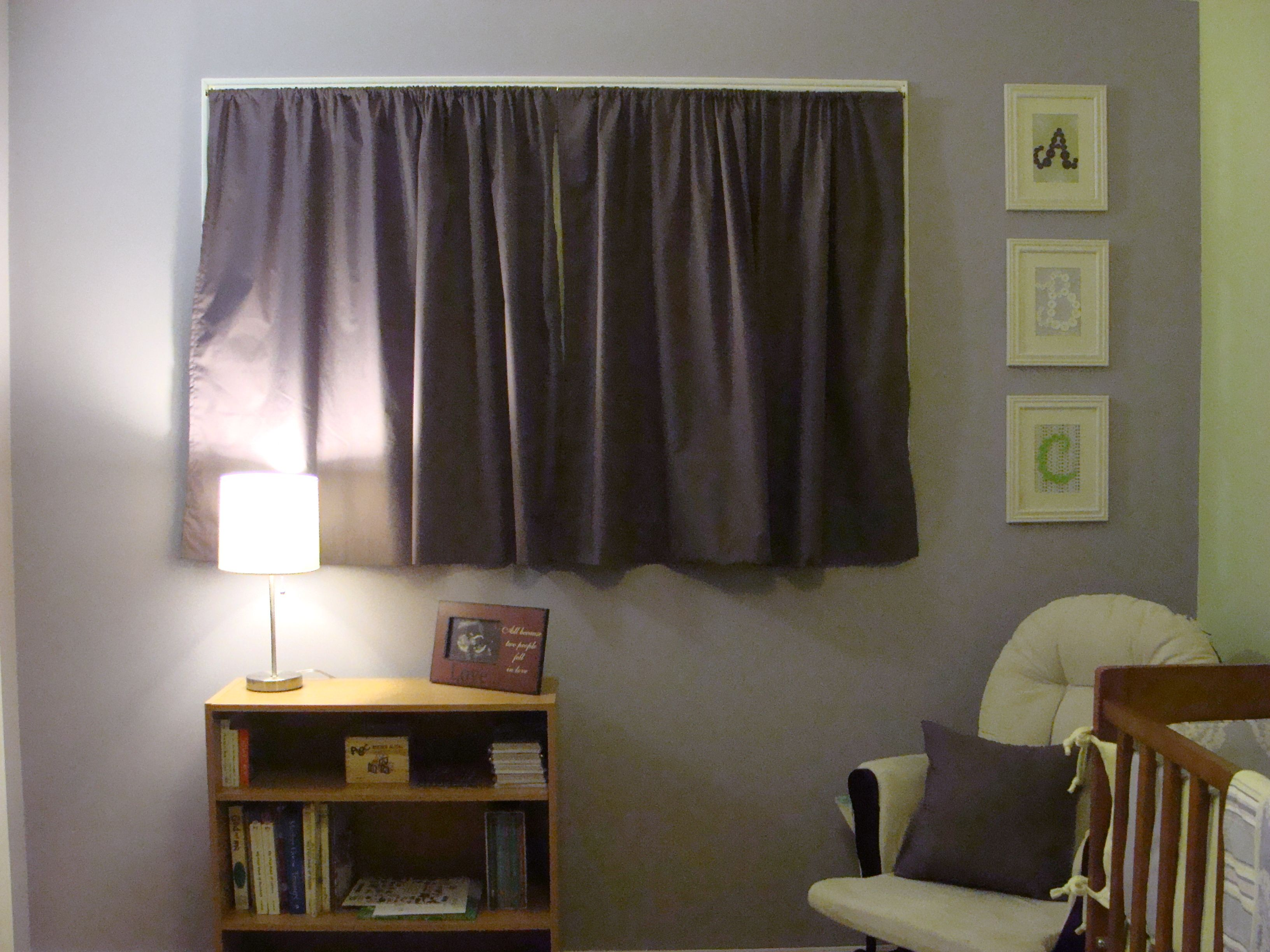 Homemade Curtains And Pillow