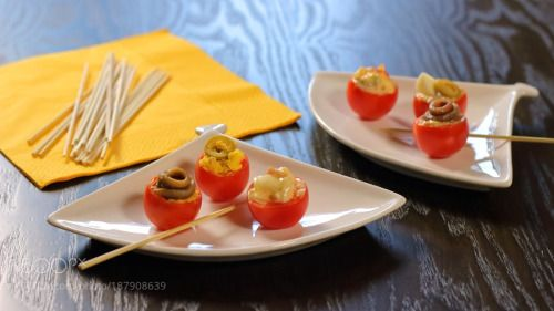 Stuffed Cherry Tomatoes #1 by saspa69  IFTTT 500px