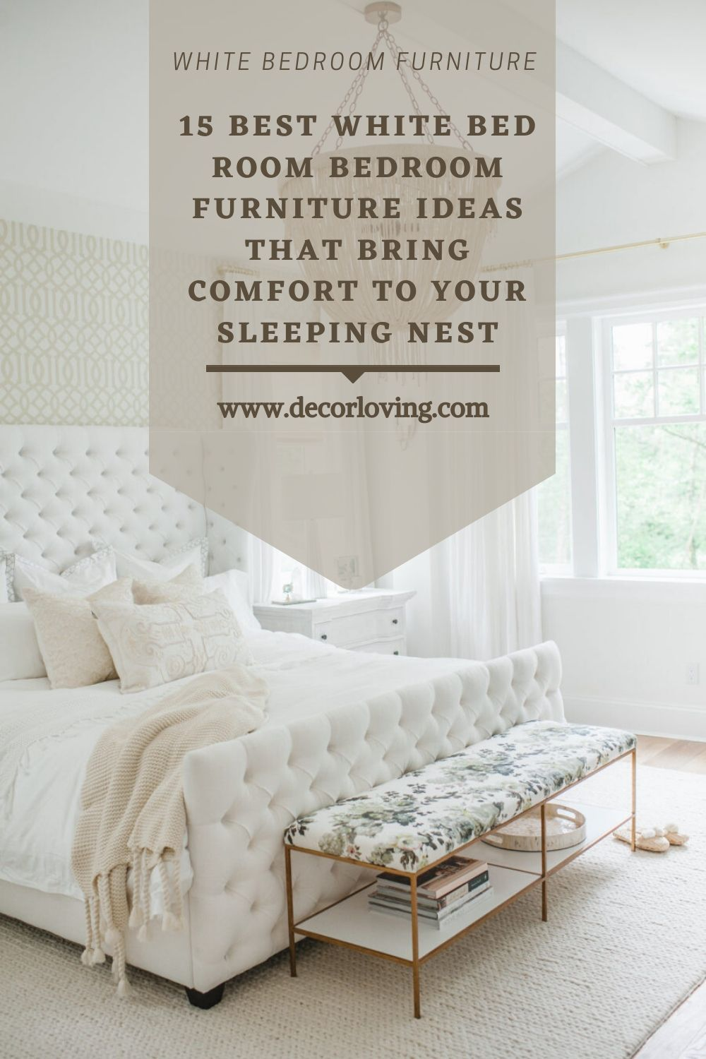 15 Best White Bed Room Bedroom Furniture Ideas That Bring