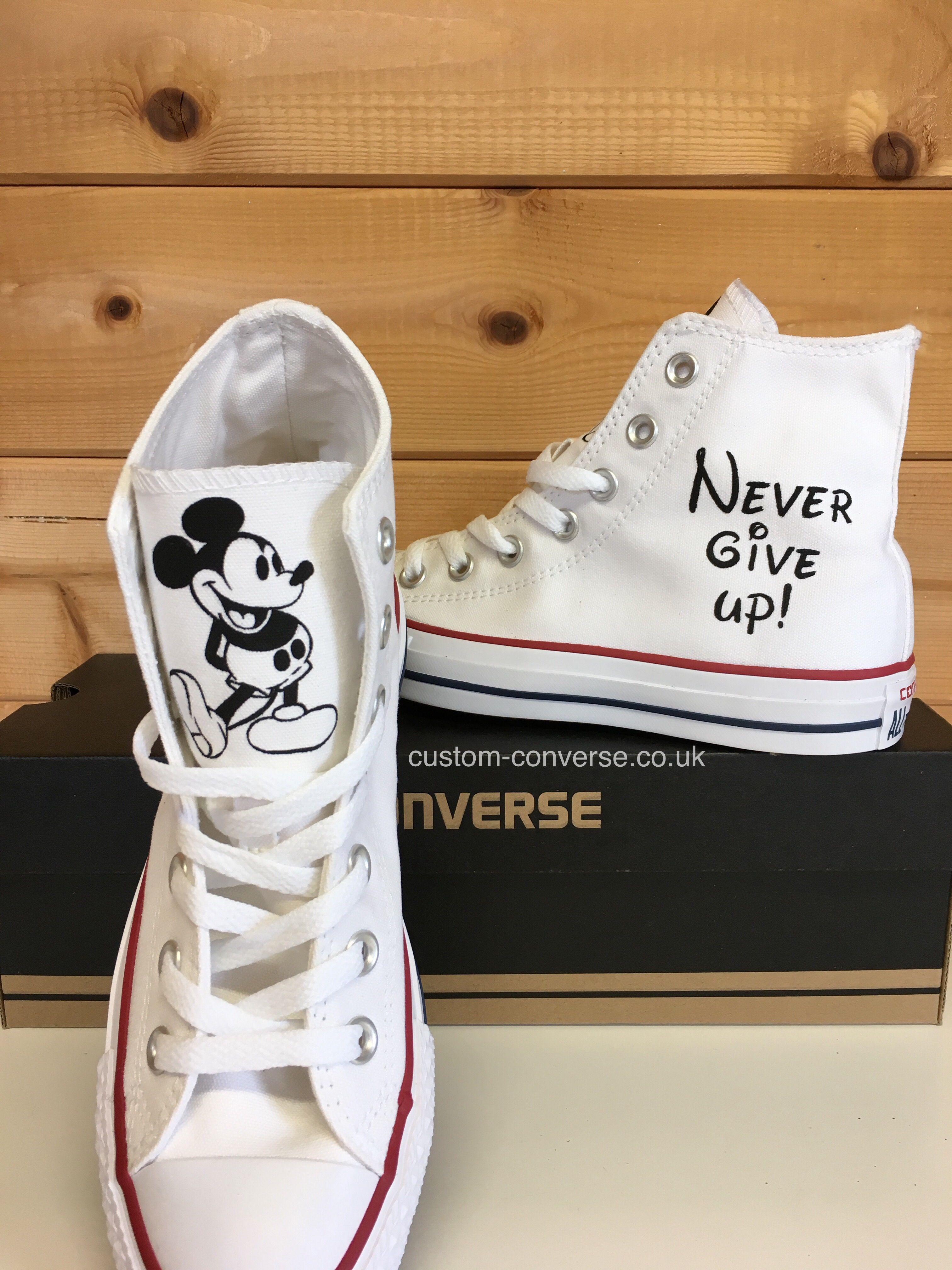 Pin on Pop Culture Hand Painted Converse Trainers