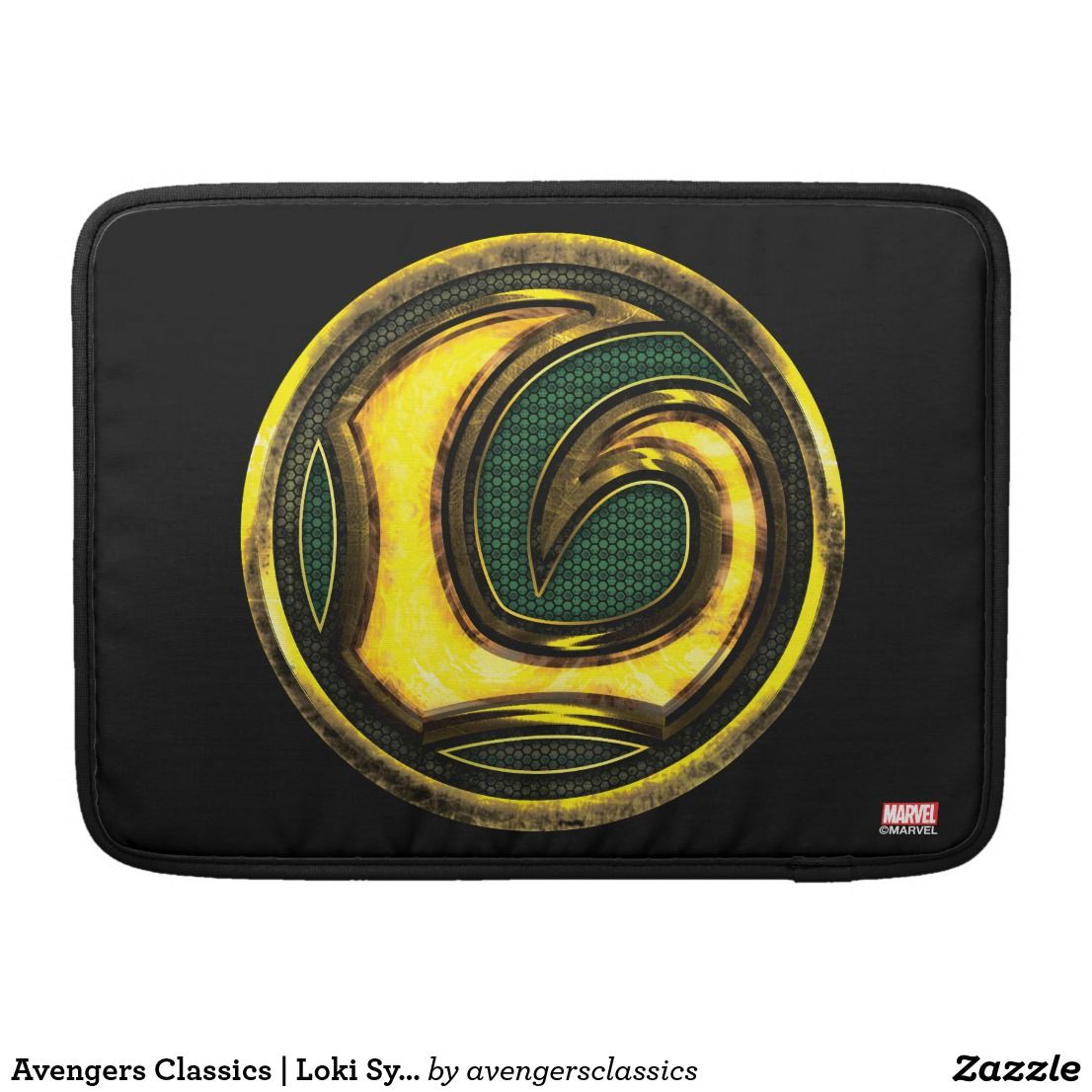 Avengers Classics Loki Symbol Macbook Pro Sleeve Cloth Ideas