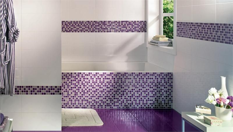 koupelna obklady mozaika - Hledat Googlem Domeček Pinterest - enlever carrelage salle de bain