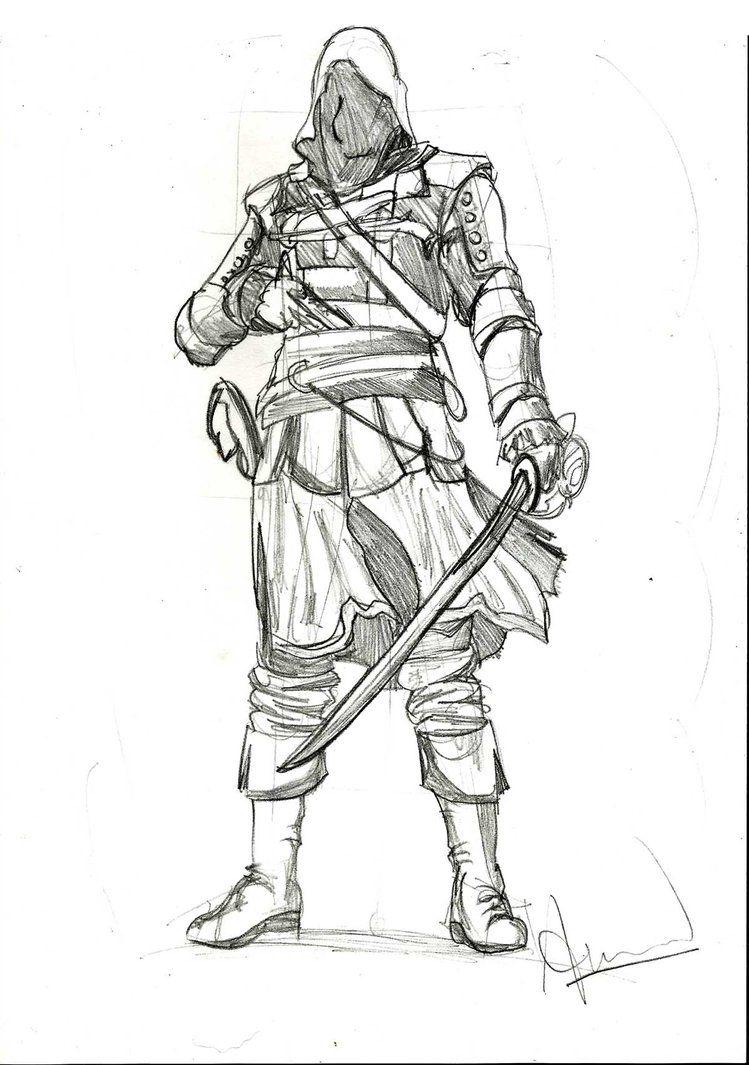 Assassin Assassin S Creed Sketches Pinterest