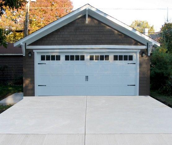20 Foot Garage Door With Carriage Style By Regencygarages Home Interiors Garage Door Styles Garage Doors Garage Builders